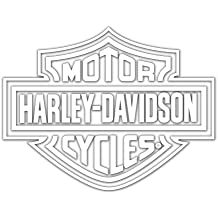 Harley-Davidson Logo Cutz Rear Window Decal