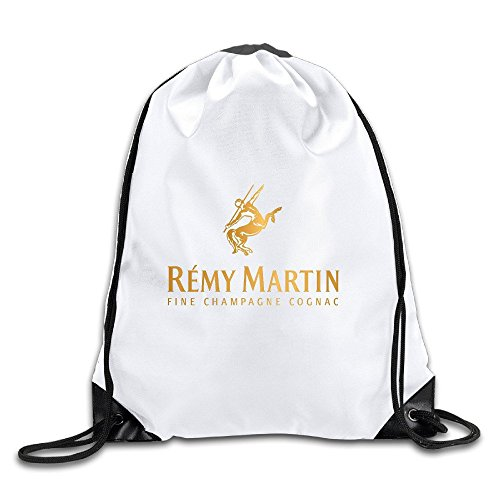 e Cognac Logo Sports Drawstring Backpack For Men & Women ()