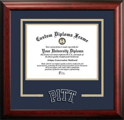 University of Pittsburgh Logo Diploma Frame