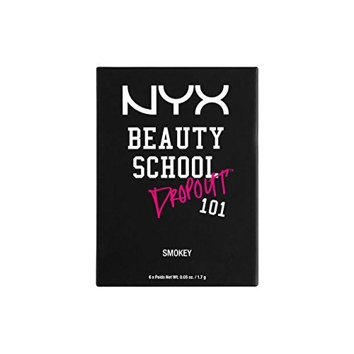 NYX PROFESSIONAL MAKEUP Beauty School Dropout 101, Smokey, 0