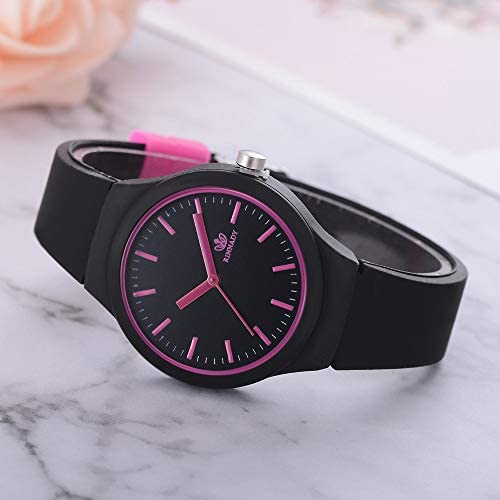Posional Women Casual Watches,Ladies Solid Pattern Sports