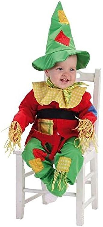 Disfraz de espantapajaros Bebe Chico: Amazon.es: Ropa y accesorios