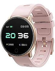 UMIDIGI Uwatch Montre Femmes Smartwatch IP67 Imperméable Connectée Podometre Trackers d'activité Bluetooth Bracelet Sport Pours Android iOS