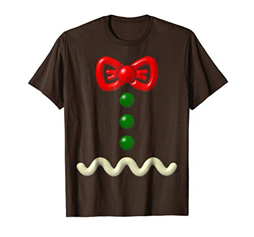 Funny Gingerbread Man Costume Halloween Gift Shirt]()
