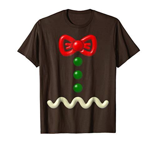 Funny Gingerbread Man Costume Halloween Gift Shirt -