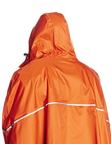 Ferrino Dryride - Capa chubasquero impermeable unisex para adulto, Unisex adulto, Dryride, naranja, talla única naranja