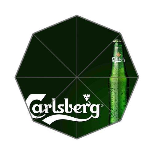 carlsberg-logo-custom-sun-rain-umbrella-foldable-umbrella