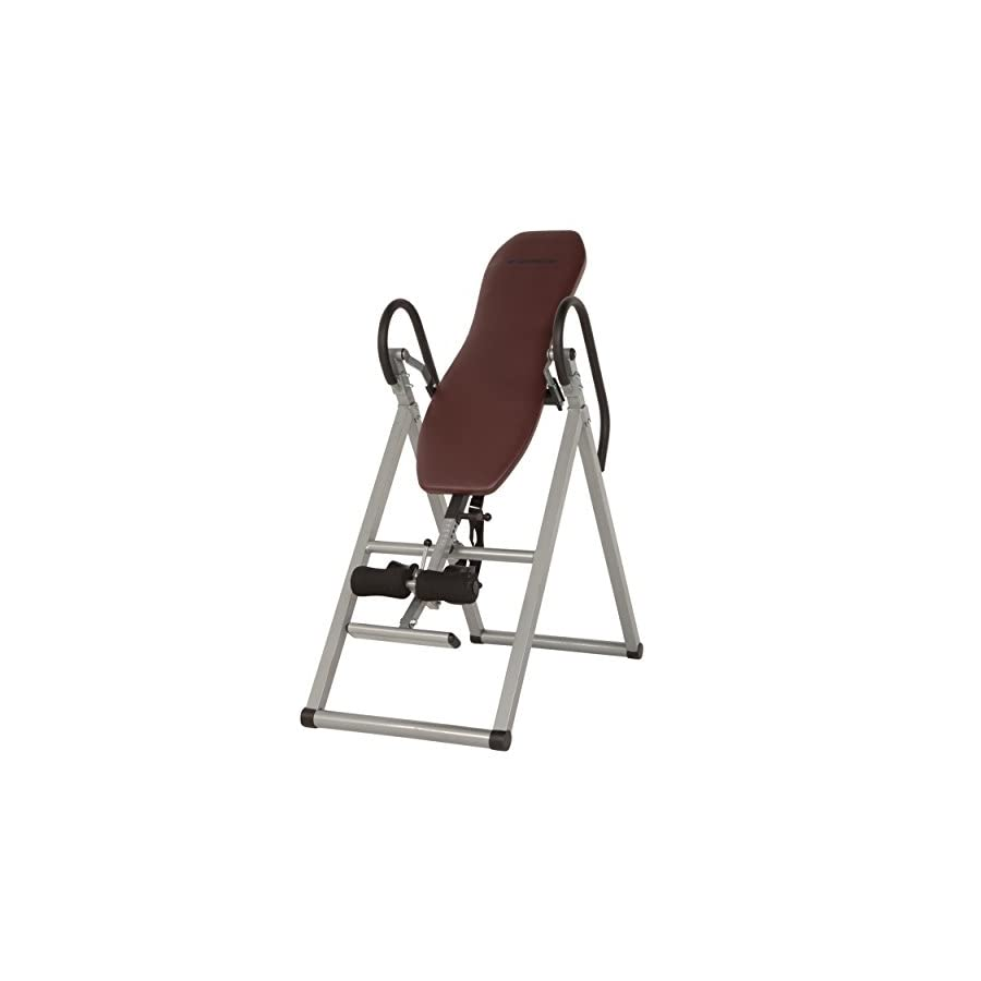 Exerpeutic Inversion Table with Comfort Foam Backrest