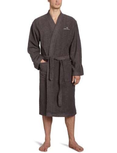 Tom Tailor 100300/900/700 - Albornoz con forma de kimono, color azul dunkel grau