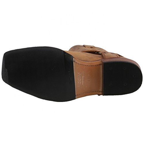 Sendra Boots - Botas de cuero para hombre marrón Braun (Mad Dog Tang Lavado)