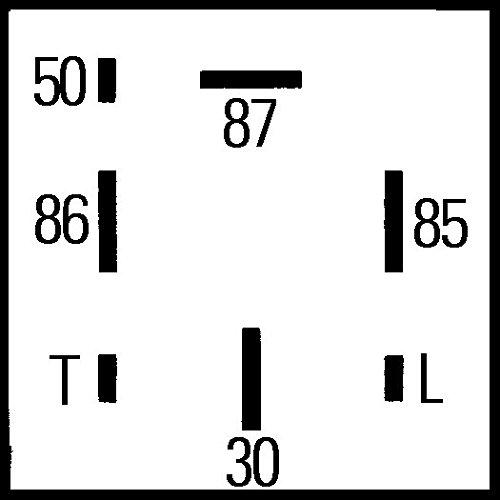 Tempo incandescenza HELLA 4RV 008 188-171 Centralina