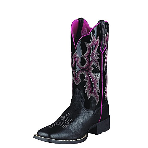 Women's Tombstone Wide Square Toe Western Cowboy Boot,