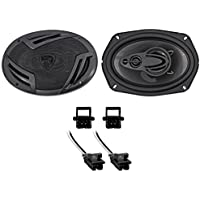 94-96 Chevrolet Chevy Impala SS Rockville Rear Factory Speaker Replacement Kit