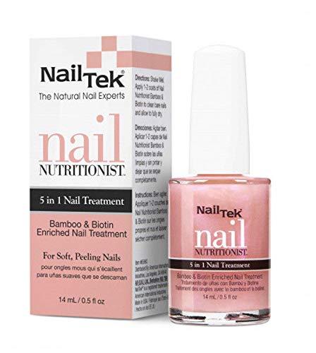 Nail Treatment Kit - Nail Tek Nail Nutritionist Bamboo & Biotin, 0.5 oz