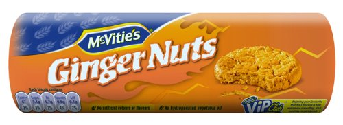 McVitie's Ginger Nuts Roll Wrap, 8.8-Ounce (Pack of 12)