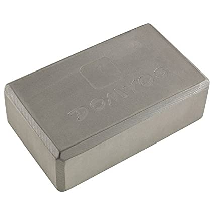 Amazon.com : Domyos Foam Yoga Brick - Dark Grey : Sports ...