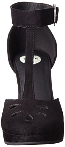 Keyhole Women's Starlet T Black Heels k Shoes u qwwXt6