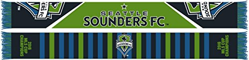 Seattle Sounders 2016 MLS Cup Champions Scarf - 4 Designs - Official MLS Scarf