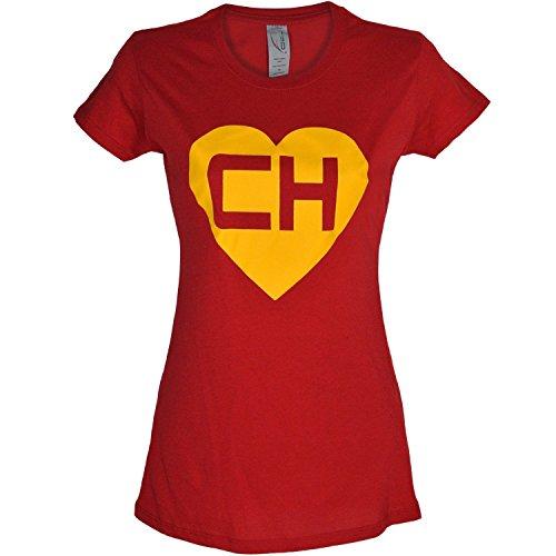Chespirito Chapulin Colorado Womens Shirt (M) -