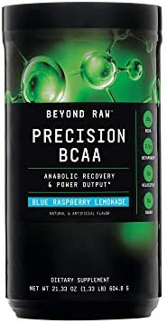 Beyond Raw Precision BCAA – Blue Raspberry Lemonade, 30 Servings, Provides Energy and Supports Muscle Repair