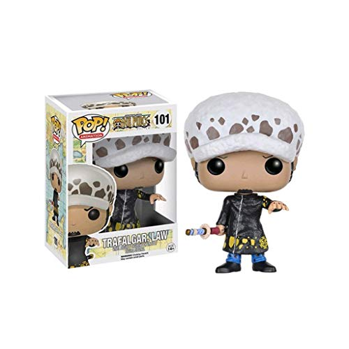 YYBB Pop Animacion One Piece - Trafalgar Law Vinil Figura Exclusiva Figura Coleccionable, Multicolor Figuri