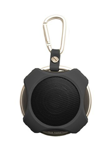 Portable Bluetooth Speaker Lil' Snapper (Black) - Best in Class Sound - Rugged for Outdoor Use - Satisfaction Guaranteed