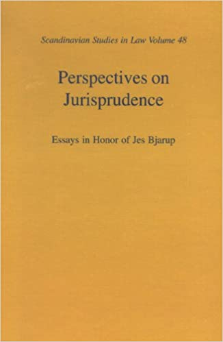 buy perspectives on jurisprudence essays in honor of jes bjarup  buy perspectives on jurisprudence essays in honor of jes bjarup scandinavian studies in law book online at low prices in perspectives on