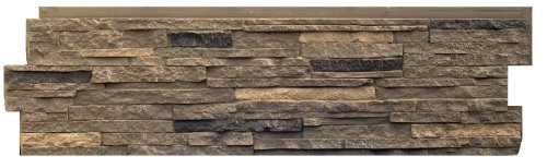 NextStone Stacked Stone Panel Volcanic Gray (5 Panels Per Box)(18.15 Sq.Ft. Per Box) by NextStone