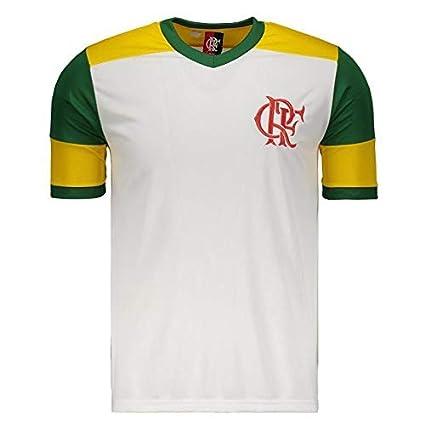 ab753ef2647c9 Camisa Flamengo Brasil Retrô  Amazon.com.br  Esportes e Aventura