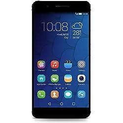 Honor 6+ Smartphone, 4G LTE, Dual SIM, Display 5.5 pollici Full HD, Processore Octa-Core, 3GB RAM, Memoria interna 32GB, Doppia Fotocamera posteriore bionic dual parallel 8 MP, Fotocamera anteriore 8MP, Android 4.4, Emotion 3.0, Batteria 3600 mAh, Nero