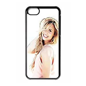 LJF phone case C-EUR Print Demi Lovato Pattern Hard Case for iphone 6 4.7 inch
