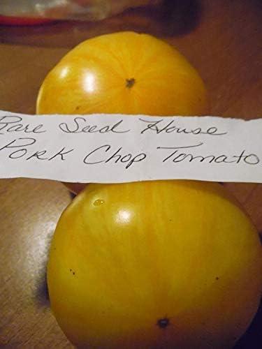 Potseed Seltener Schweinekotelett Tomatensamen! Kamm. S/H Mehr als 600 Arten von Samen in unserem Speicher!