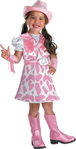 Disguise Wild West Cutie Toddler Costume, 2T (Pink Cowgirl Costume)