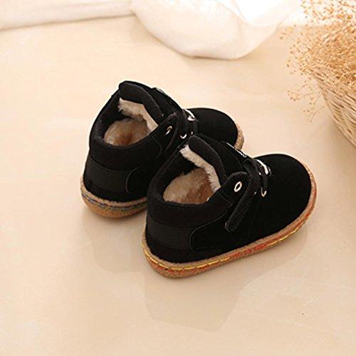 ... Casual HUHU833 Kinder Mode Jungen Stiefel Martin Sneaker Stiefel,  Kinder Baby Warm Halten Freizeitschuhe, ... 10dfccb81a
