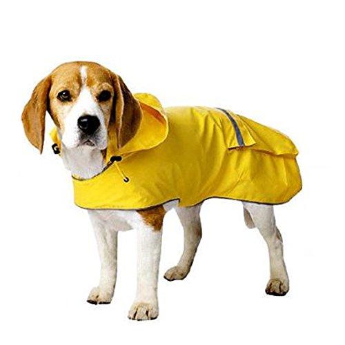 Old Navy Dog - Old Navy Dog Supply Company Yellow Rain Jacket Slicker (Small)