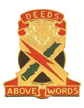 Group Unit Crest (108th Air Defense Artillery Group Unit Crest (Deeds Above Words))