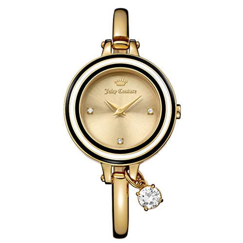 - Juicy Couture Women's 'Melrose' Quartz Tone and Gold Plated Casual Watch(Model: 1901434)