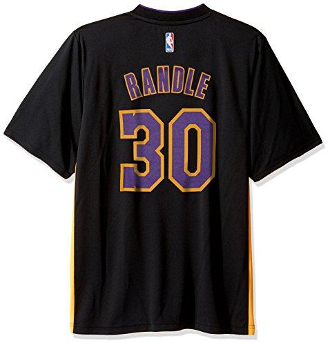 NBA Men's Los Angeles Lakers Julius Randle Replica Player Pride Jersey, Medium, Black