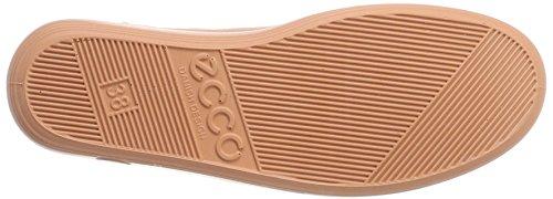 Cordones 0 Beige Muted Mujer para Soft Derby 2 Zapatos de Clay Ecco qwpf7WX1Rf