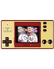 Classic Video Game Console Built-in 1000 Games Mini Portable Retro Game Console 3.0 Inch Screen Gift for Kids red