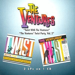 Twist With Ventures / Ventures Twist Party 2 by One Way Records Inc