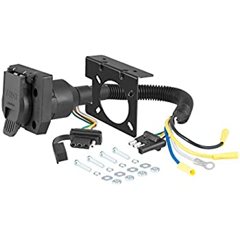 7 Pin Trailer Connector >> Amazon Com Hopkins Towing Solutions 47185 Emw8134058