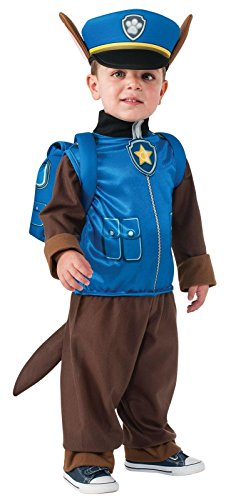 Group Costumes For 2016 (Rubie's Costume Toddler PAW Patrol Chase Costume, X-Small Child Size)