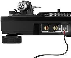 Cable para reproductor de audio y grabador, con toma de tierra para detener el zumbido de fondo, de la marca 1STec® 2 x 1.5 Metre Full RCA + Earth ...