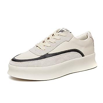 Deportivos amp;g Casuales Mujer De Blancos Ngrdx Zapatos uF53KTJl1c