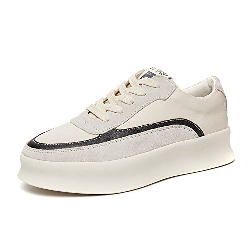 Etudiants amp; Noir Ngrdx Chaussures 37 G Shoes White Femme Thick Fille 8WwFSHWqn