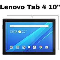 M.G.R.J® HD Clear 9H Hardness Tempered Glass for Lenovo Tab 4 10""