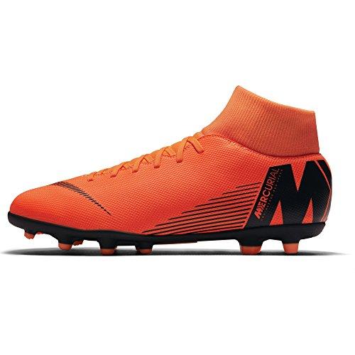 Club 6 Mg Black Deporte Zapatillas total 810 De Unisex t Superfly Multicolor Nike Orange Niños RqAx5tE