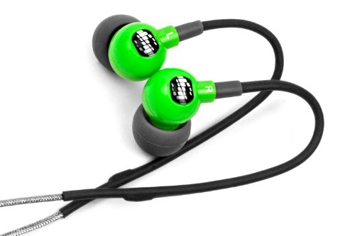 H2O Audio TR1-GN H2O Audio Trax Custom Fit Sport Headphones Green Grey Discontinued by Manufacturer