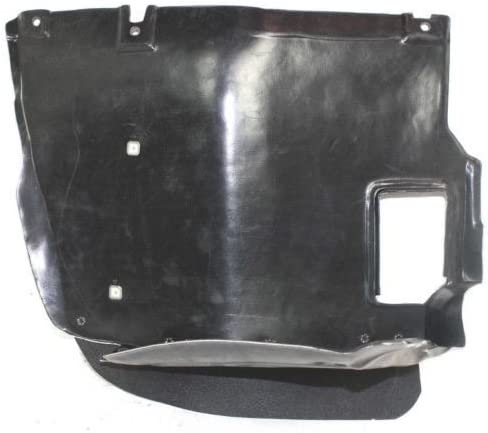 Passenger Go-Parts Splash Shield Replacement Right 51 71 8 265 468 BM1251109 Replacement 2000 2001 2002 2003 2004 2005 for 1999-2006 BMW 323i Front Fender Liner